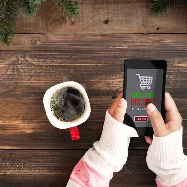 Las ventas online han crecido un 8% estas Navidades