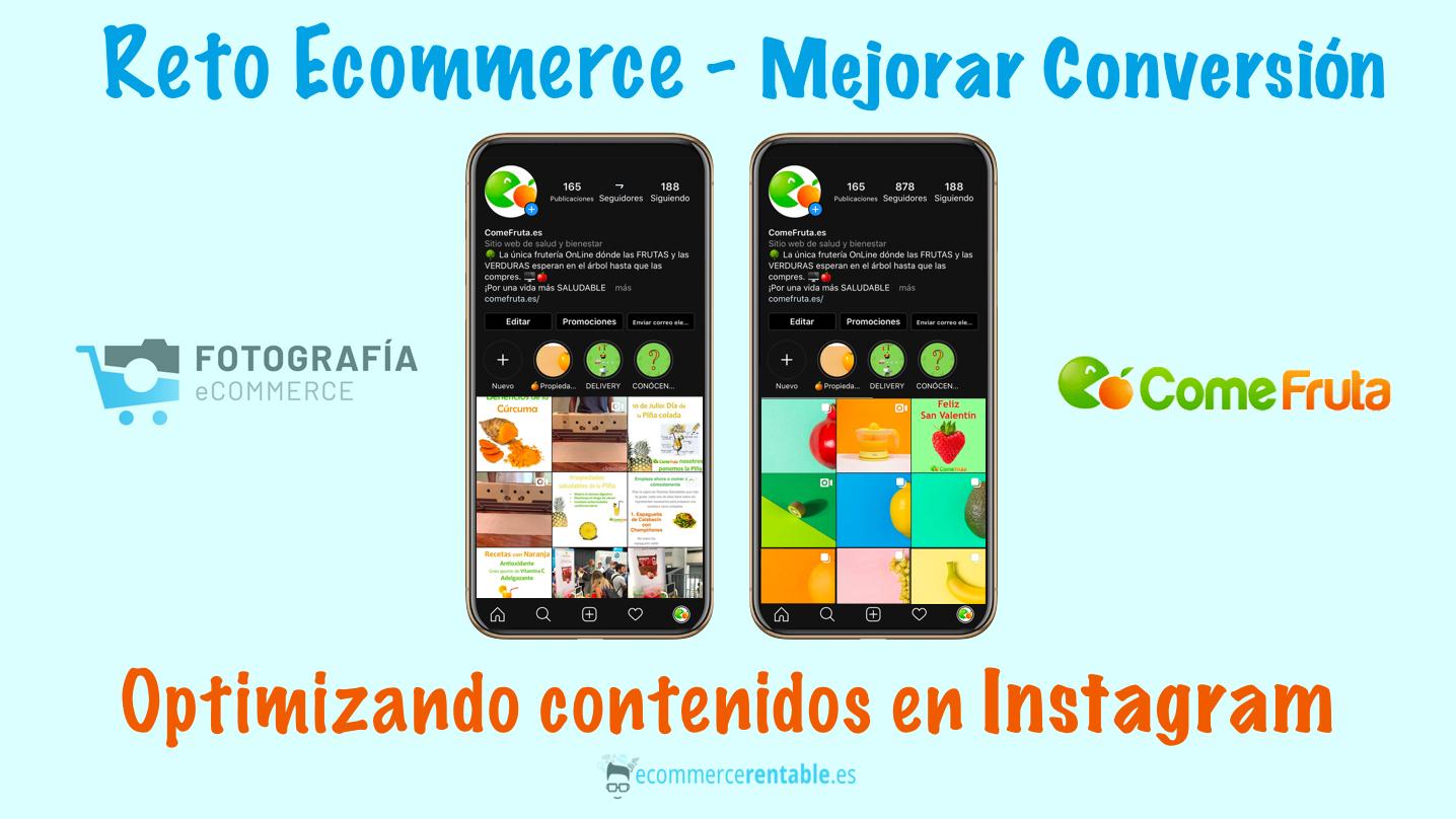 Reto Ecommerce 2. Mejorar conversión con Redes Sociales